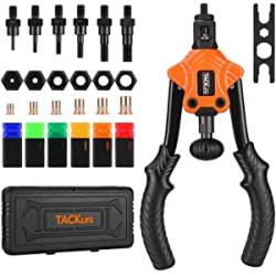 Chollo - Tacklife HHNP2B Kit Pistola Remachadora + Accesorios