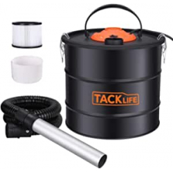 Chollo - Tacklife PVC03A Aspirador de cenizas 15kpa