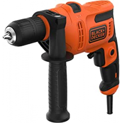 Chollo - Taladro percutor Black & Decker BEH200-QS 500W