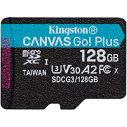 Chollo - Tarjeta microSD 128GB Kingston Canvas Go! Plus U3 V30 A2 - SDCG3/128GBSP