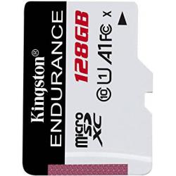 Chollo - Tarjeta MicroSD XC Kingston Endurance 128GB U1 A1
