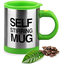 Chollo - Taza mezcladora automática Self Stirring Mug