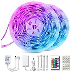 Chollo - Teckin Strip Light Tira LED RGB 10M