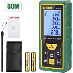 Chollo - Telémetro láser TECCPO TDLM21P 50m