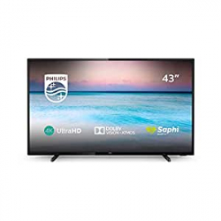 "Chollo - Televisor 43"" Philips 43PUS6504/12 UHD 4K HDR10+"