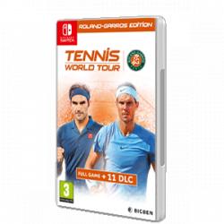 Chollo - Tennis World Tour Roland-Garros Edition | Nintendo Switch [Versión física]