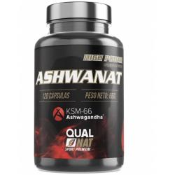 Chollo - Qualnat AshwaNat 120 cápsulas