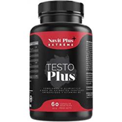 Chollo - Testosterona vigorizante Testo Plus con ginseng, zinc y maca