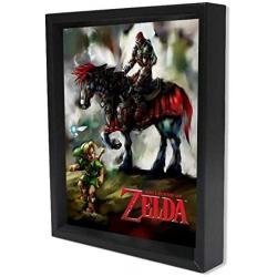 Chollo - The Legend Of Zelda Young Link & Ganondorf Póster 3D