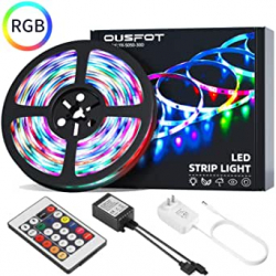 Chollo - Tira LED OUSFOT RGB 5m