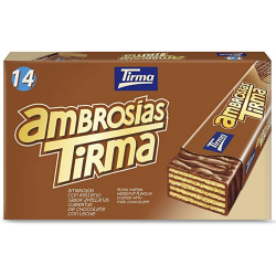 Chollo - Tirma Ambrosía Chocolate con Leche y Avellana Estuche 14x 21.5g