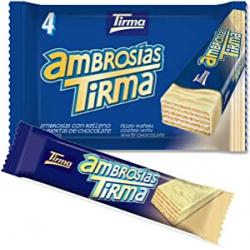 Chollo - Tirma Ambrosías Barquillo chocolate blanco 4 unidades | 42435