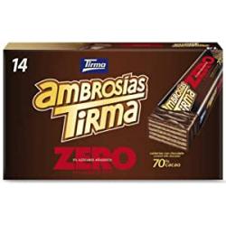 Chollo - Tirma chocolate 70% ZERO Ambrosías Estuche 14x 21.5g | 42270