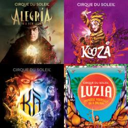 Chollo - Todos los Especiales del Circo del Sol (actualizado)