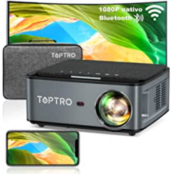 Chollo - TOPTRO X1 Proyector FHD WiFi BT5.0