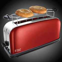 Chollo - Tostadora Russell Hobbs 21391-56 Colours Plus+ Flame Red