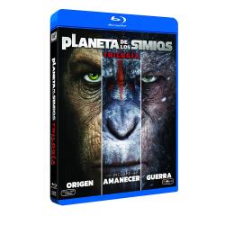 Chollo - Trilogía El Planeta de los Simios [Blu-ray]
