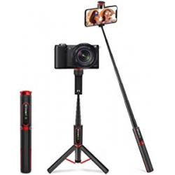 Chollo - Trípode Palo Selfie Bluetooth BlitzWolf BW-BS10 Sport con Control Remoto