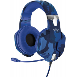 Chollo - Trust GXT 322D Carus Azul Auriculares gaming | 23249