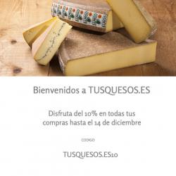 Chollo - Cupón -10% Tusquesos.es