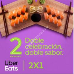 Chollo - Uber Eats 2x1 combinable con cupón descuento!