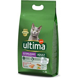 Chollo - Ultima Pienso para Gatos Adultos esterilizados con Salmón (3kg)