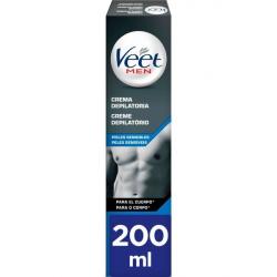 Chollo - Veet Men Pieles Sensibles crema depilatoria corporal hombre 200 ml
