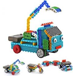 Chollo - Vehículo Robot de construcción Top Race Control remoto RC Blocks