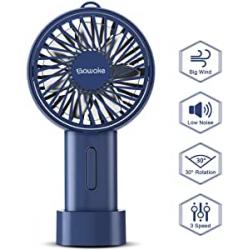 Chollo - Ventilador de mano USB con batería 2600 mAh