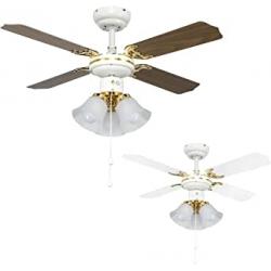 Chollo - Ventilador de techo con luz MiniSun Hawker
