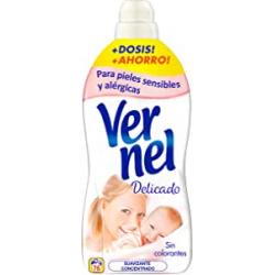 Chollo - Vernel Suavizante Concentrado Delicado (76 lavados)