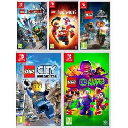 Chollo - Precios mínimos en videojuegos LEGO para Nintendo Switch