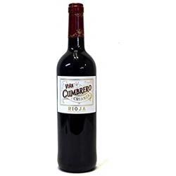 Vino tinto Viña Cumbrero Crianza D.O Rioja 75cl
