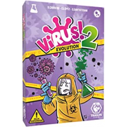 Chollo - Virus! 2 Evolution Juego de cartas [Pack expansión] | Tranjis Games TRG-12evo