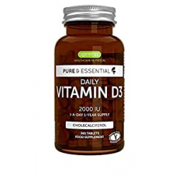 Chollo - Vitamina D3 Pure & Essential (365 Comprimidos)