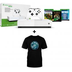 Chollo - Xbox One S 1TB All Digital + Camiseta