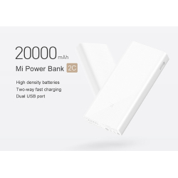 Xiaomi Power Bank 2C QC3.0 20000mAh Dual USB