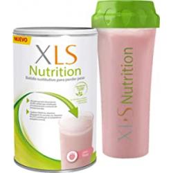 Chollo - XLS Medical Nutrition Batido sustitutivo de comidas Fresa 400ml + Shaker de regalo