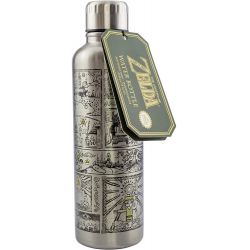 Chollo - Zelda Nintendo Botella metálica 500ml | Paladone PP5809NNTX