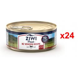 Chollo - ZiwiPeak Venado Alimento húmedo para gato Lata Pack 24x 85g