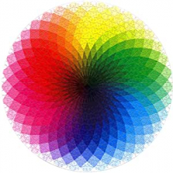 Chollo - ZoneYan Rompecabezas Arcoíris 1000 piezas